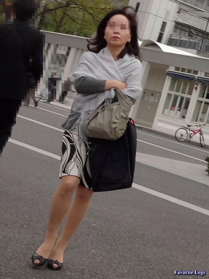 街撮り 熟女パンスト Favorite Legs